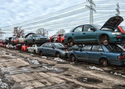 Złomowanie pojazdów